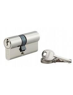 Cylindre 25 x 35 mm nickelé 3 clés