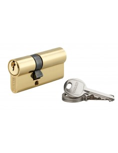 Cylindre 25 x 40 mm laitonné 3 clés