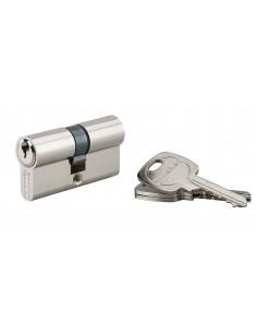 Cylindre 30 x 30 mm panneton réduit 3 clés pour réf. 011721-011728-012825