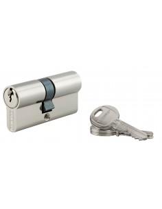 Cylindre 30 x 35 mm 3 clés nickelé