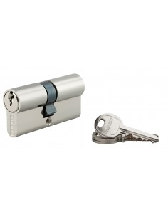 Cylindre 30 x 35 mm nickelé 3 clés