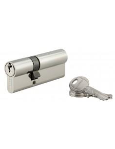 Cylindre 30 x 50 mm 3 clés nickelé