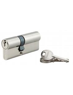 Cylindre 30 x 55 mm nickelé 3 clés