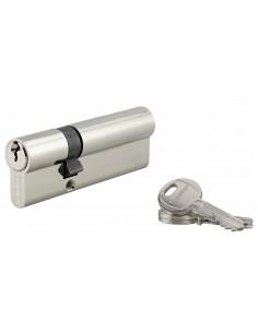 Cylindre 30 x 60 mm 3 clés nickelé