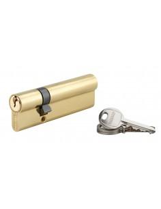 Cylindre 30 x 70 mm laitonné 3 clés