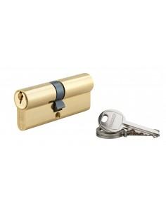 Cylindre 35 x 40 mm laitonné 3 clés
