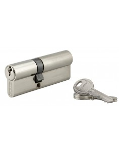 Cylindre 35 x 50 mm 3 clés nickelé