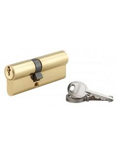 Cylindre 35 x 50 mm laitonné 3 clés