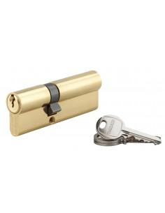 Cylindre 35 x 55 mm laitonné 3 clés