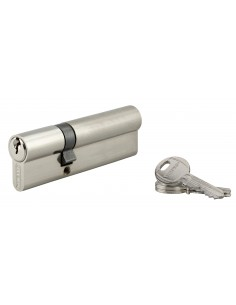 Cylindre 35 x 70 mm 3 clés nickelé