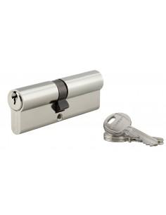 Cylindre 40 x 45 mm 3 clés nickelé