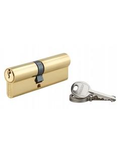 Cylindre 40 x 50 mm laitonné 3 clés