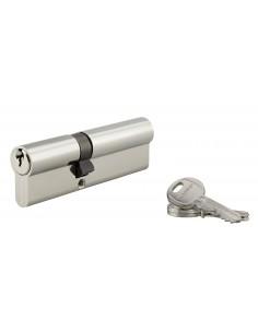 Cylindre 40 x 60 mm 3 clés nickelé
