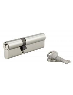Cylindre 40 x 70 mm 3 clés nickelé