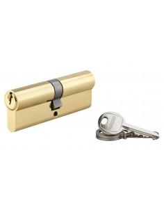 Cylindre 45 x 45 mm 3 clés avec vis de 45 mm laitonné