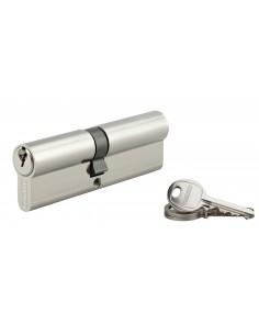Cylindre 45 x 50 mm nickelé 3 clés