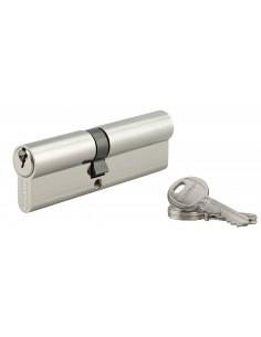 Cylindre 45 x 55 mm 3 clés nickelé