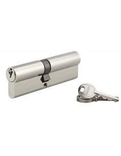Cylindre 45 x 55 mm nickelé 3 clés