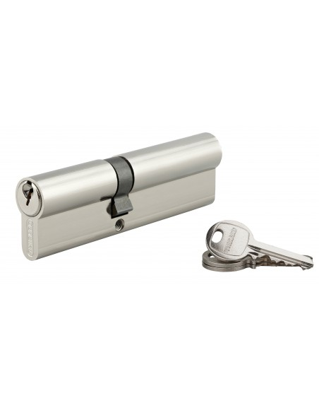 Cylindre 45 x 60 mm nickelé 3 clés
