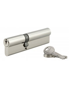 Cylindre 45 x 70 mm 3 clés nickelé