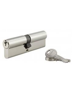 Cylindre 50 x 50 mm 3 clés nickelé