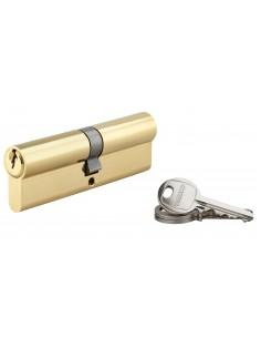 Cylindre 50 x 50 mm laitonné 3 clés