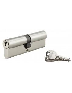 Cylindre 50 x 50 mm nickelé 3 clés