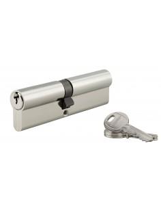 Cylindre 55 x 55 mm 3 clés nickelé