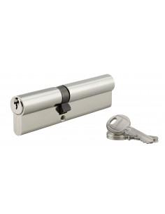 Cylindre 55 x 60 mm 3 clés nickelé