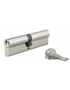 Cylindre 60 x 60 mm 3 clés nickelé