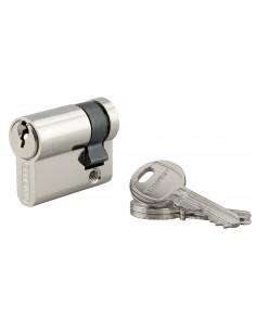 Demi-cylindre 35 x 10 mm 3 clés nickelé