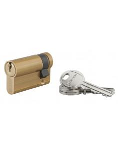 Demi-cylindre 40 x 10 mm 3 clés laiton