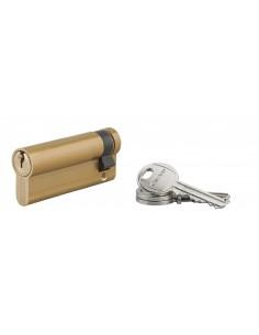 Demi-cylindre 60 x 10 mm 3 clés laiton