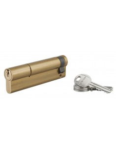 Demi-cylindre 90 x 10 mm 3 clés laiton