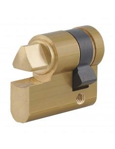 Cylindre profile hg 30x10 triangle interne 11 laiton