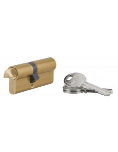 Cylindre profile hg 30x40 triangle externe 11 côté 30 3 clés laiton