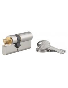 Cylindre profile hg 30x40 triangle interne 11 côté 30 3 clés nickelé