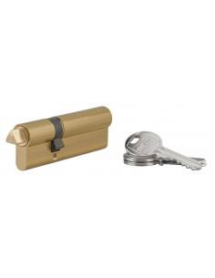 Cylindre profile hg 30x60 triangle externe 11 côté 30 3 clés laiton