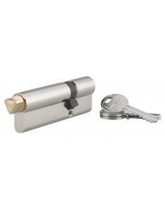 Cylindre profile hg 30x60 triangle externe 14 côté 60 3 clés nickelé