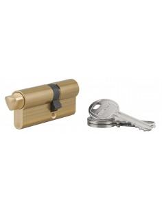 Cylindre profile hg 40x30 triangle externe 14 côté 40 3 clés laiton